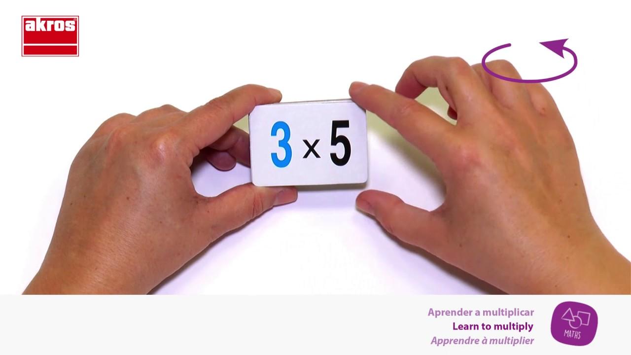 Juegos para Aprender a Multiplicar - YouTube