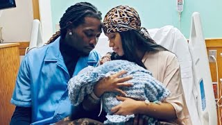Cardi B Gives Birth to BABY BOY With Offset