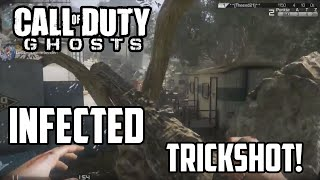 Call of duty Ghosts: Infected AWESOME last Throwing Knife Kill![HD]