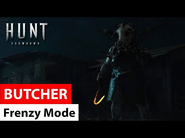 Frenzy mode of Butcher (update 6.0) - Hunt: Showdown / режим безумия Мясника