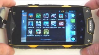 мобильный телефон Texet TM-4084 обзор