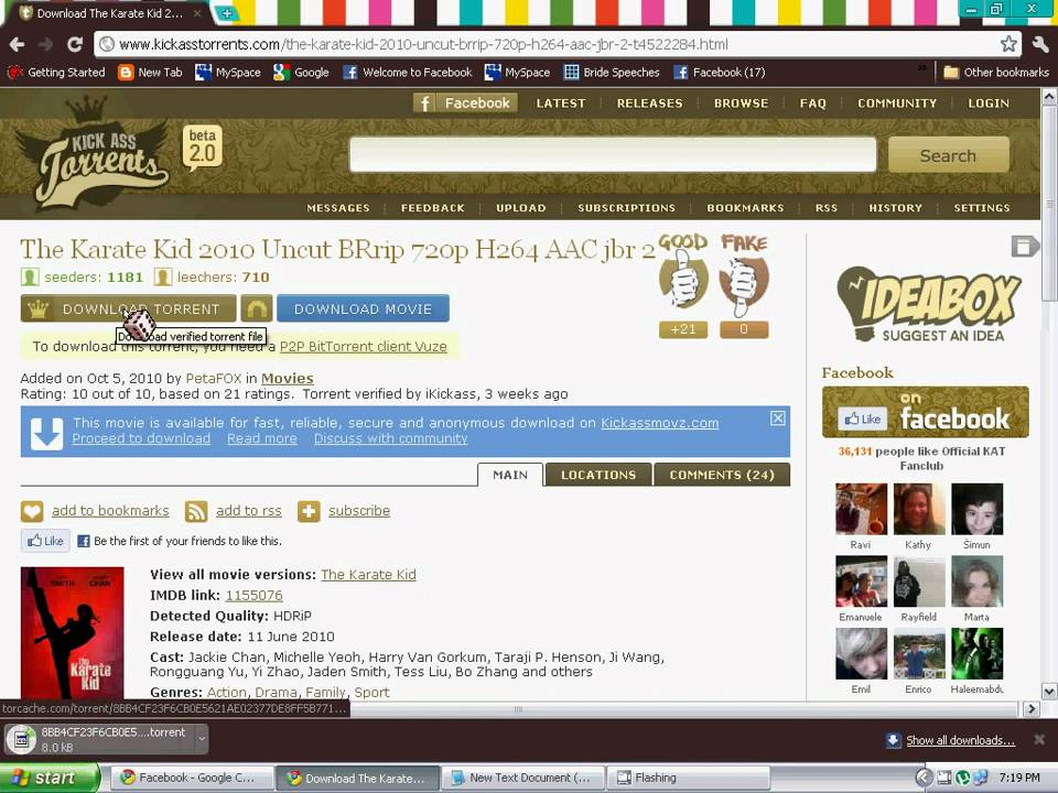 how to download movie using utorrent - YouTube