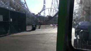 Train Car Ride - To Six Flags Magic Mountain Parking Lot Area