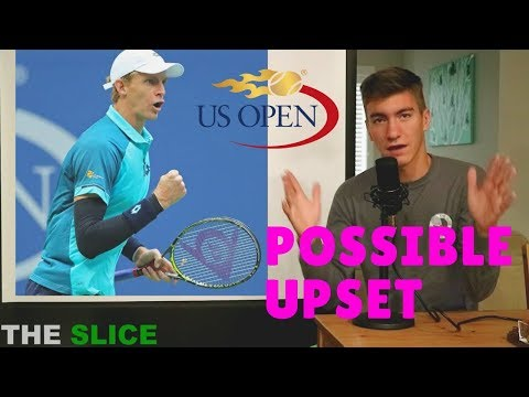 How Kevin Anderson Could UPSET Nadal | THE SLICE