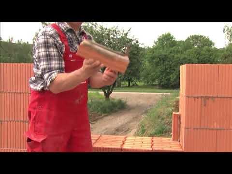 Дом своими руками, как построить дом, кладка кирпича керамоблока необходимый инструмент