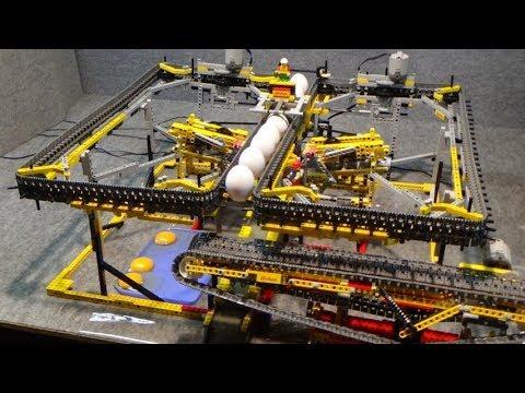 LEGO : Eggs Whipping Machine And Separator / Eier Aufschlagmaschine Und Trennvorrichtung By New Lego