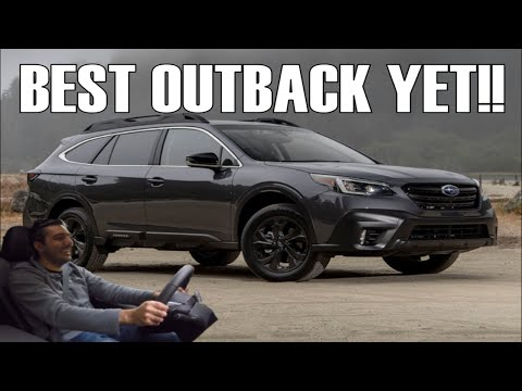 The 2020 Subaru Outback XT is AMAZING!! (Onyx Edition Review)