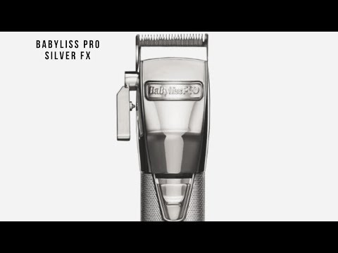 BABYLISS PRO SILVER FX UNBOXING - BEST CLIPPERS ON THE MARKET!!!