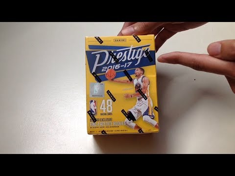 Panini 2016-17 Prestige NBA Basketball Cards Unboxing
