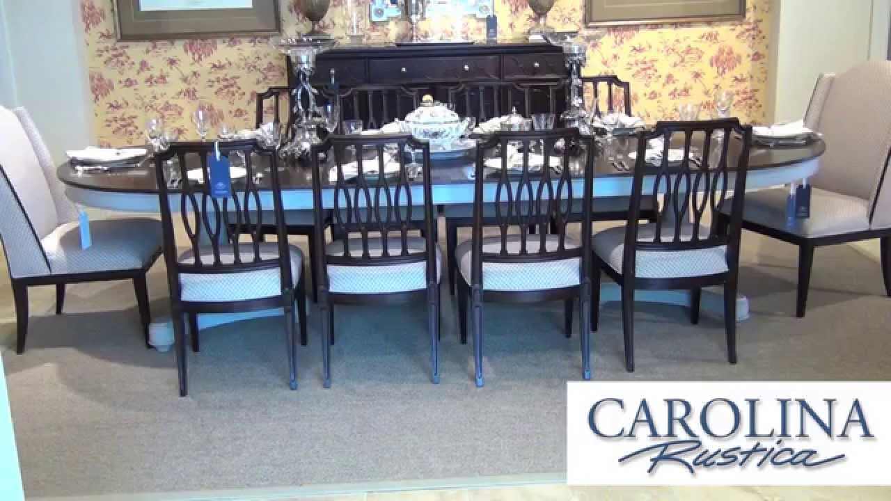 stanley furniture charleston regency collection - youtube