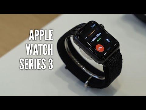 Apple Watch Series 3 im Hands-On (deutsch): Anders unter der Haube - GIGA.DE