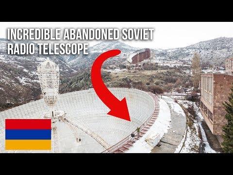 URBEX   Epic Abandoned Soviet Radio Telescope