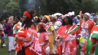 Black History Studies attends the Keti Koti Festival in Amsterdam - July 2013