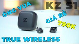 Tai nghe True Wireless KZ Z1: Game Mode, chống ồn vật lý, giá 800K