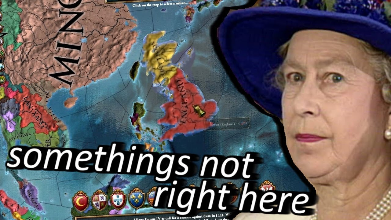 Europa Universalis 4 But The Mods Have Gone Too Far