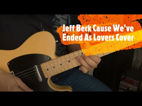 Cause We've Ended As Lovers Jeff Beck Cover Fender Telecaster Baja