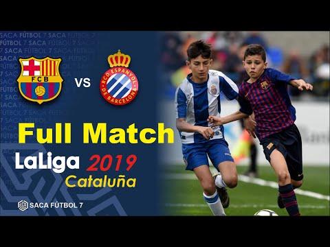 FC Barcelona Vs RCD Espanyol LaLiga Cataluña Alevín 2019