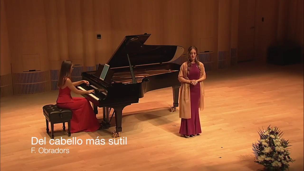 """ Del cabello más sutil "" F. Obradors - Isabel Cañada Luna"