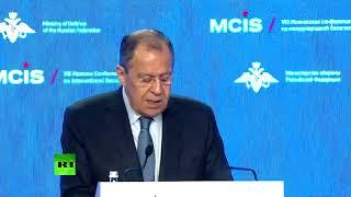 Московская конференция по международной безопасности — LIVE