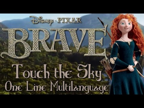 Brave - Touch the Sky (One Line Multilanguage) w/subs&trans