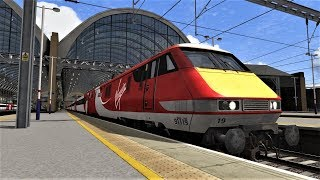 Train Simulator 2018: BH Reskins Class 91 Pack Preview & My Thoughts Regarding The ECML Franchise