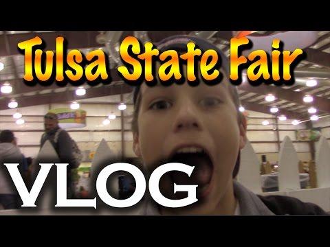 Tulsa State Fair Vlog