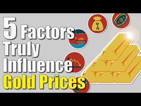 "5 Factors You Didn't Know That Truly Influence ""Gold Prices"" 