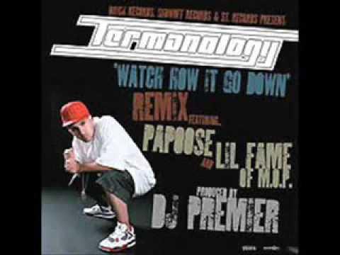 TERMANOLOGY ft Lil Fame & Papoose - Watch how it go down (Remix) (pros DJ Premier)