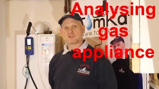 ANALYSING GAS APPLIANCES, how to flue gas analyse all gas appliances and understand your results.