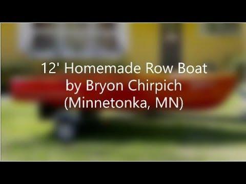 DIY Wood Boat