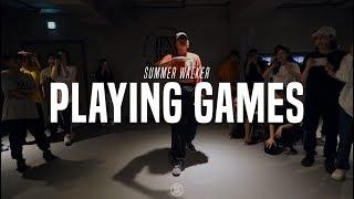 Summer Walker Feat. Bryson Tiller - Playing Games | Bada Lee Choreo Class| Justjerk Dance Academy