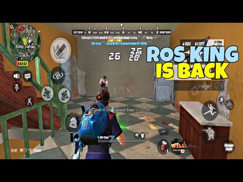 ROS Mobile King is Back!!🔥 / Rules of Survival