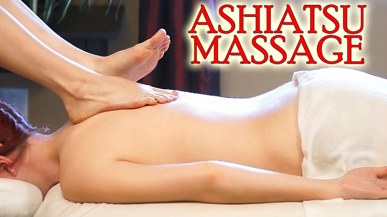 Thai massage causes her to get extremely wet
