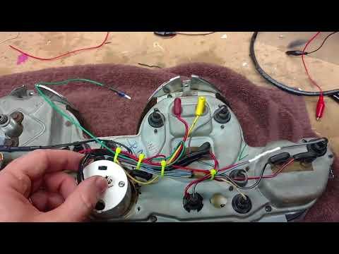 $10 Minitach In 68 Mustang Clock Opening