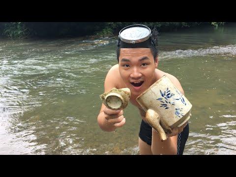 Minh Phường - Thử Lặn Xuống Suối Tìm Thấy Cổ Vật Quý Hiếm