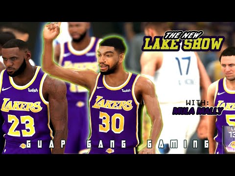 MULA AND LEBRON VS STEPH AND KLAY- NBA 2K20 GAMEPLAY