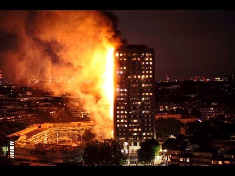 LONDON FIRE | GRENFELL TOWER (multiple perspectives)