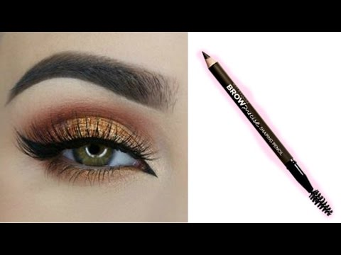 Easy EYEBROW TUTORIAL For Beginners Using Pencil