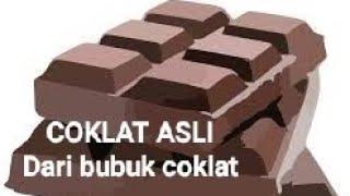 Cara buat Coklat batang susu, ASLI...!!!