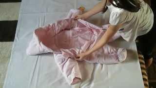 Флисовый демисезонный комбинезон на ребенка.М.Зайчата.(, 2015-03-23T00:31:10.000Z)