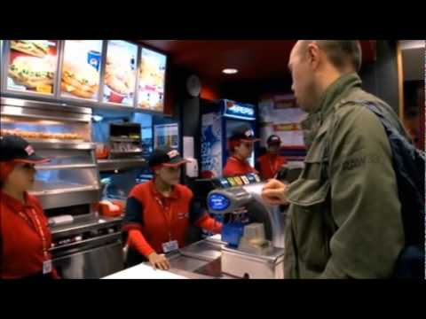 Karl Pilkington goes to KFC in Egypt