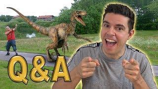 Q&A - Min barndom og mine interesser