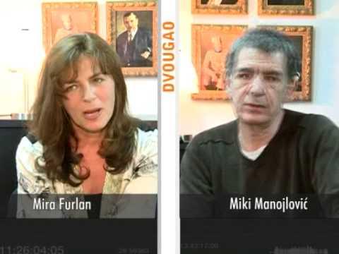 DVOUGAO Mira Furlan  Miki Manojlović