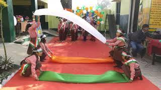 Jai Ho Dance Perfromance Republic Day Celebration By Dance  Primary School Bankiya Bewar Children