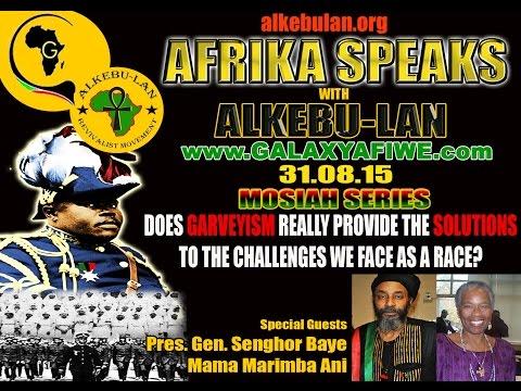 Afrika Speaks with Alkebu-Lan: Feat Mama Marimba Ani & Pres. Gen. Senghor Baye | 31.08.31
