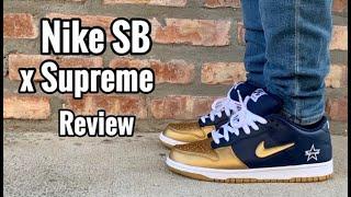 Nike Dunk SB x Supreme Review & On Feet