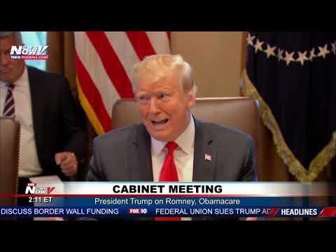 FULL Q&A: President Trumps First Cabinet Meeting of 2019 (FNN)