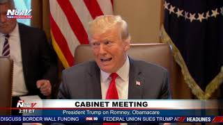 FULL Q&A: President Trump's First Cabinet Meeting of 2019 (FNN)