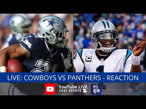 Cowboys Vs. Panthers Live Stream Reaction & Updates On Highlights From Week 1