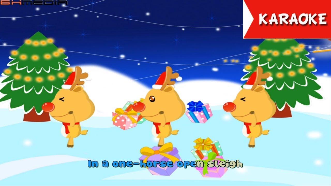Karaoke Christmas Songs.Jingle Bell Karaoke Christmas Carol Christmas Songs Merry Christmas